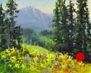 Mountain-Flowers-8X10-plein-air-oil