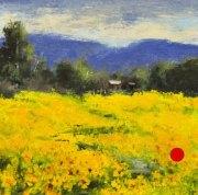 stjohn.Acres-of-Sunflowers.8X8-oil.525-sold