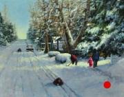 stjohn.First-Snow-final.16X20-oil