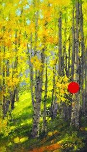 stjohn.Peeking-through-The-Trees.24X14-oil.1850sold