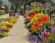 stjohn.Sidewalk-Flowers.8X10-oil.700