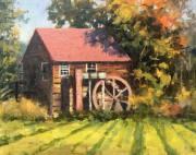 stjohn.The-Old-Mill.8X10-oil.800