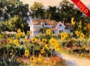 stjohn-SunflowersGoneWild-8X10oil-1050-watermarked