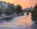 stjohn.Dusk-on-the-Seine.36X48-oil.8400