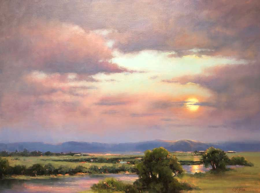 stjohn.Super-Moon-Glow.33X45-oil.1150